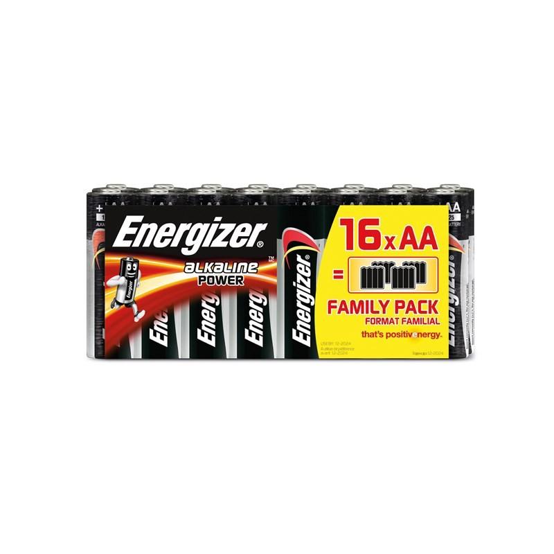 ENERGIZER Batteri AA LR6 Alkaline Power 16-pack Blister ... 080f1ff562