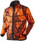 Härkila Grizzly fleece jakke - Vendbar Mossy Oak Orange Blaze®-Black thumbnail