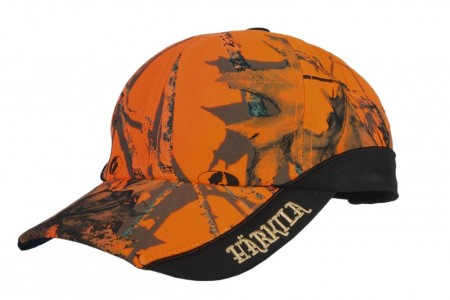 Härkila Safety Light cap -  Mossy Oak Orange Blaze