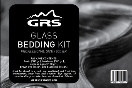 GRS Beddekit Glass 500gr. GRS Glass Bedding Kit 500 gr.